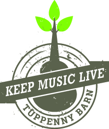 A series of live music events at Tuppenny Barn.